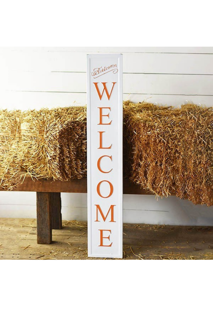 "48"" Fall Welcome Sign"