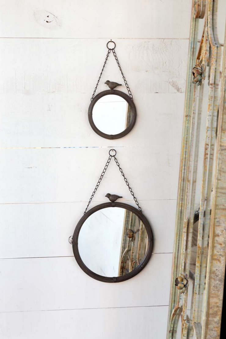 Park Hill Hanging Mirror 11""