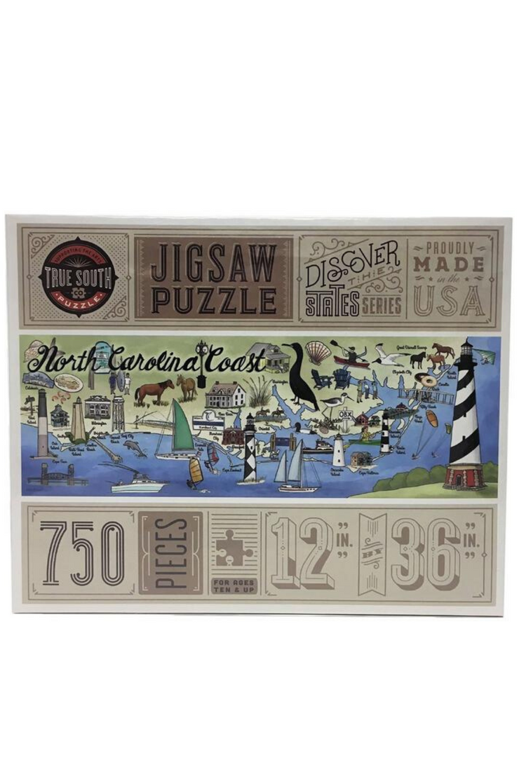 North Carolina Coast Puzzle