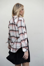 Super Soft Plaid Pocket Shirt