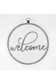 Welcome Reversible Letterboard Sign