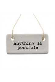 """Possible"" Ceramic Tag"