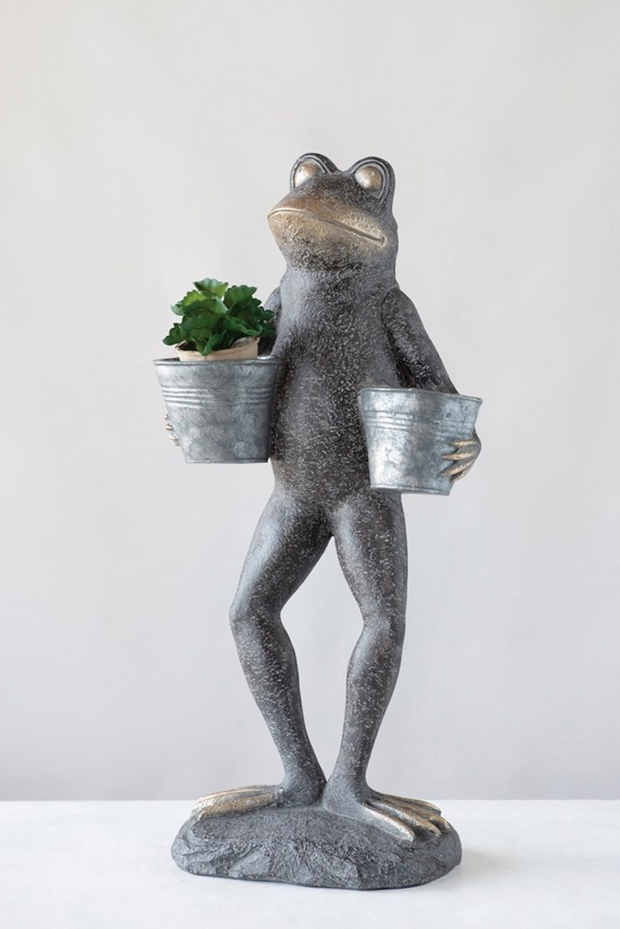 Frog With Buckets