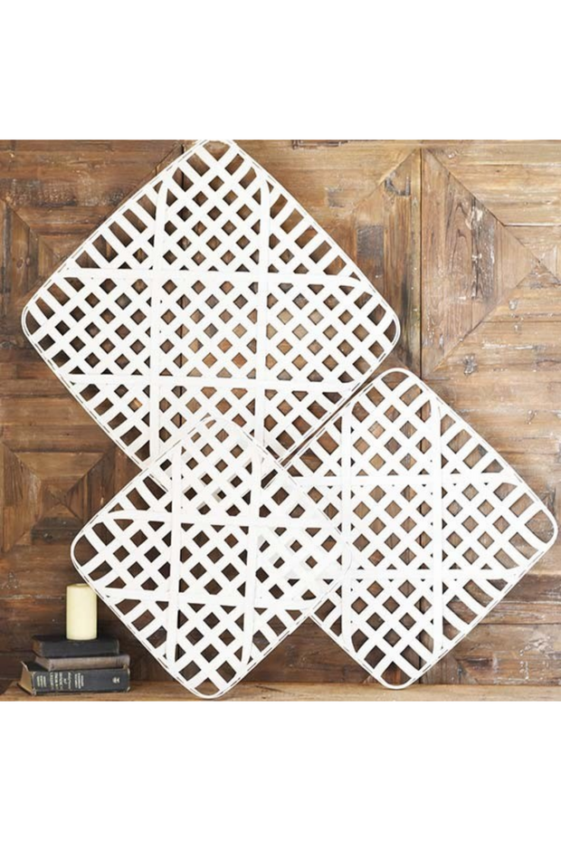 Wood Weave Wall Art