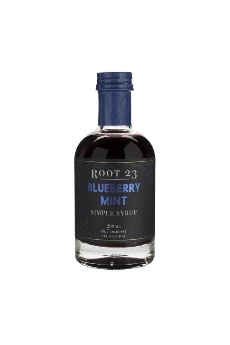 Blueberry Mint Syrup