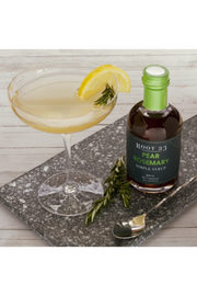 Pear Rosemary Syrup