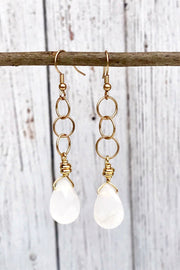 InspireDesigns Angel Teardrop Earrings