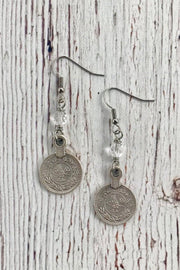 InspireDesigns Coin Earrings