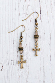 InspireDesigns Joy Cross Earrings