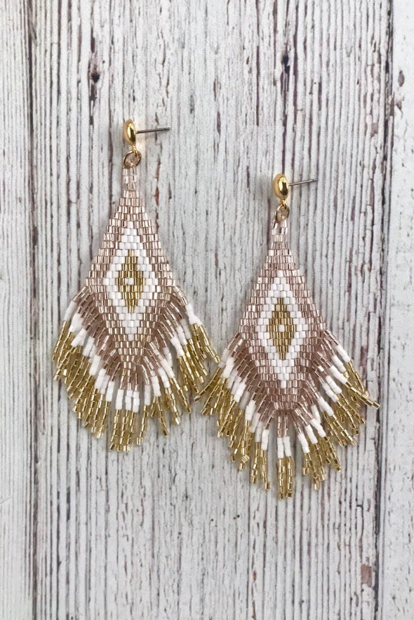 InspireDesigns Phoenix Fringe Earring Small