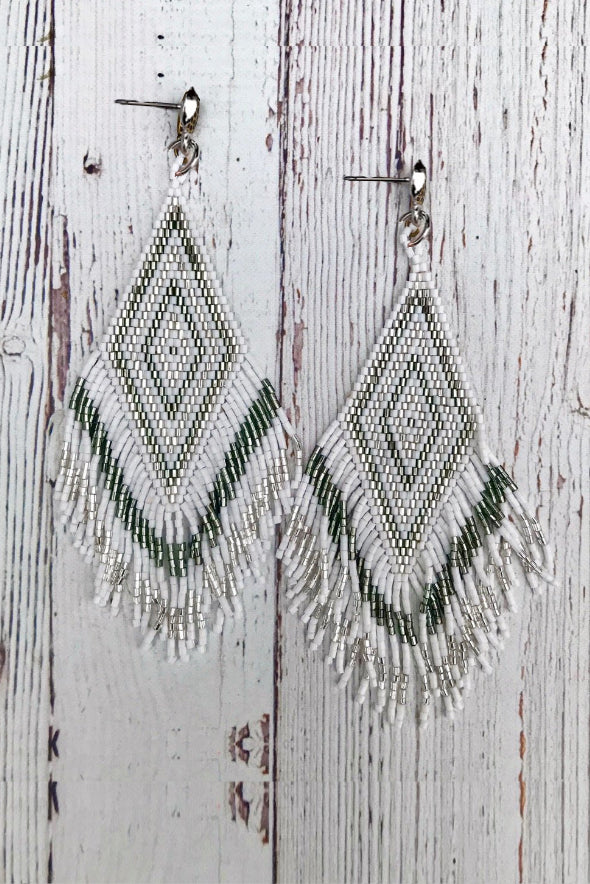 InspireDesigns Phoenix Fringe Earring