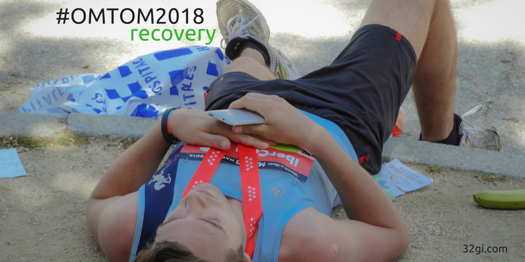 Tip 5 – #OMTOM2018 Time to recover