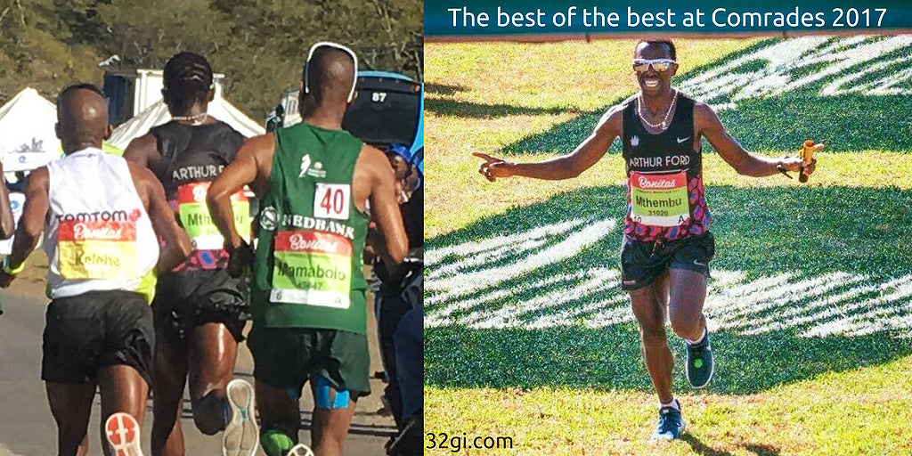 Bongmusa Mthembu on winning Comrades 2017