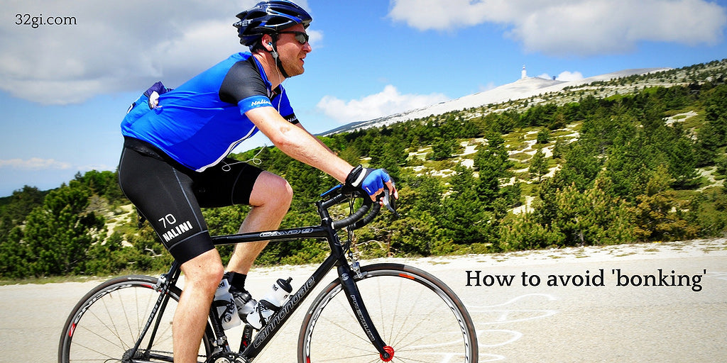 Cycling 101 – avoid 'hitting the wall'!