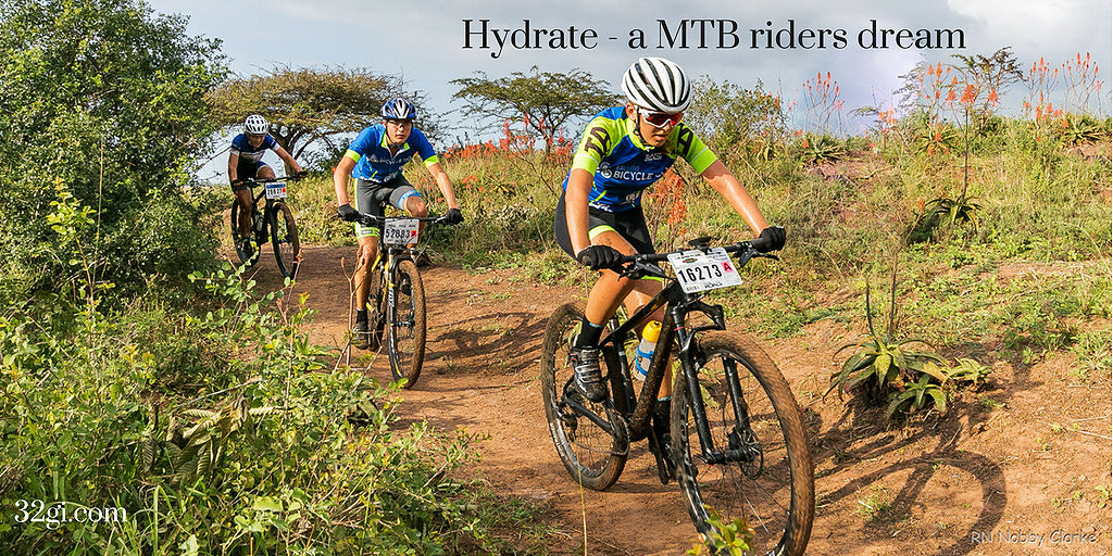 Hydrate is brilliant for MTB riders (among others)