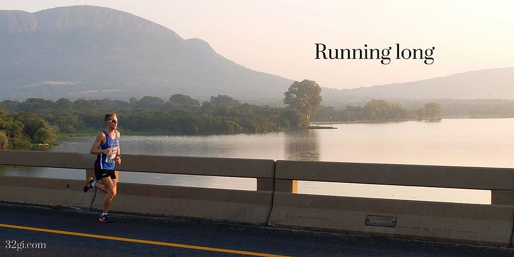 Running long with Renier Grobler