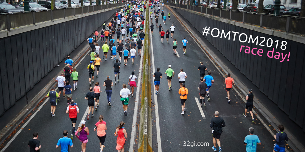 Tip 4 – #OMTOM2018 RACE DAY!