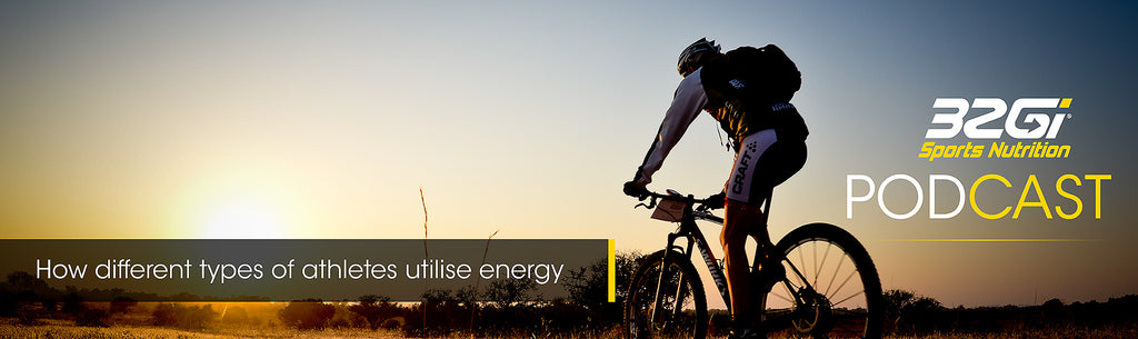 How different types of athletes utilise energy