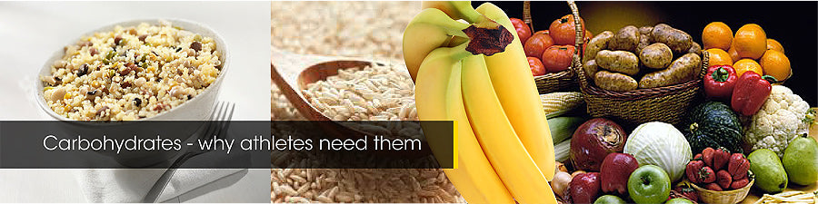 Carbohydrates – why athletes need them
