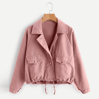 Short Pink Jacket/Cardigan