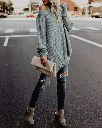 Fashion New Oversize Street Style Women Sweater