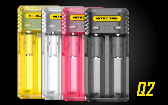 Nitecore Q2 2-Slot 2A Quick Battery Charger