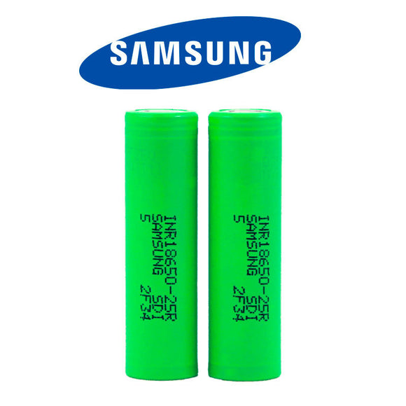 Samsung 25R 18650 3.7V Authentic Battery