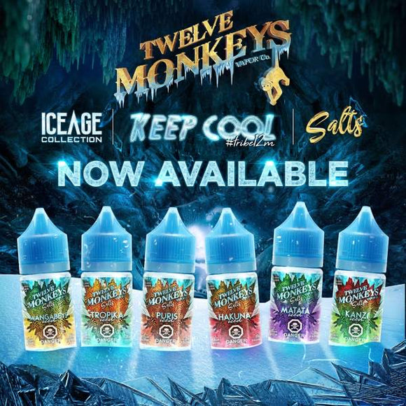 Twelve Monkeys Ice Age Salts