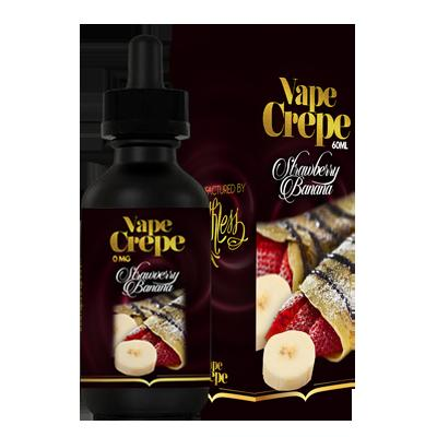 Vape Crepe - Strawberry Banana