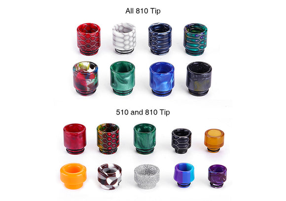 510 Drip Tips and Replacement Tubes