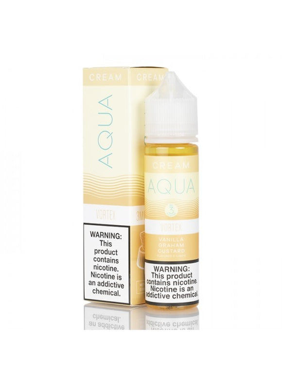 AQUA CREAM E-LIQUID 60ML