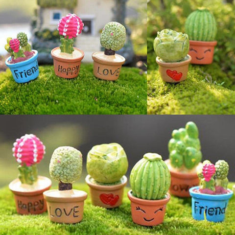Cute Small Potted Artificial Plant