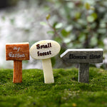 Cute Mini Garden Signposts