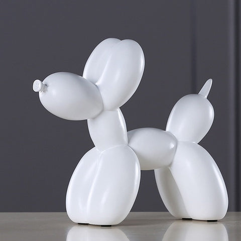 Resin Balloon Dog Sculpture