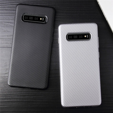 Galaxy S10 Case Ultra thin Carbon Fibre