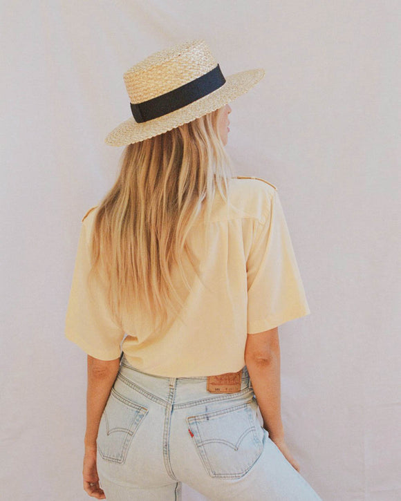 LACK OF COLOR | Rico Straw Boater
