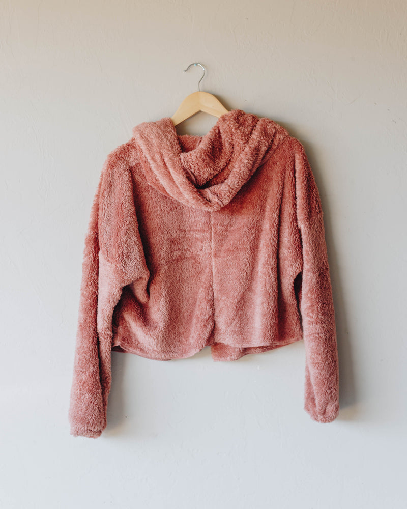 Rose Hooded Cardigan