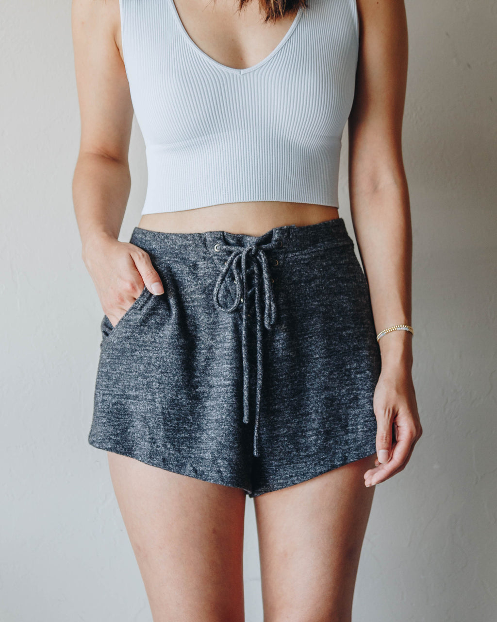 Essential Lounge Shorts - Charcoal
