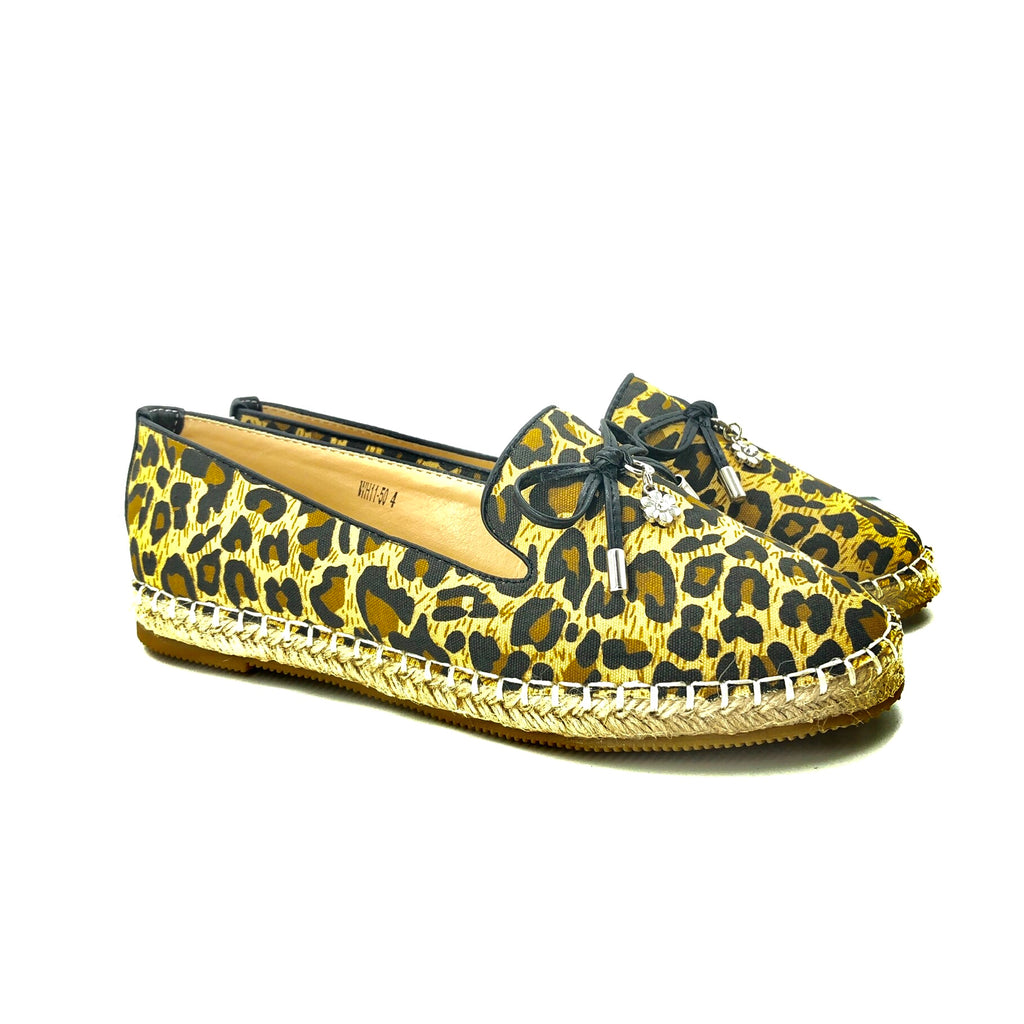 WH11-50 Loafer - Leopard/Black