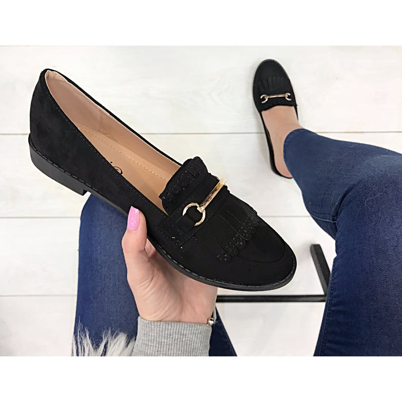 WH11-40 Loafer - Black