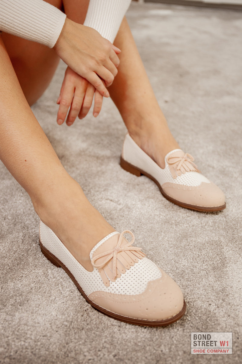 Pink Bow Loafer