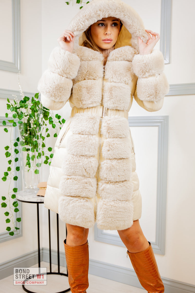 Luxe Faux Fur Puffer