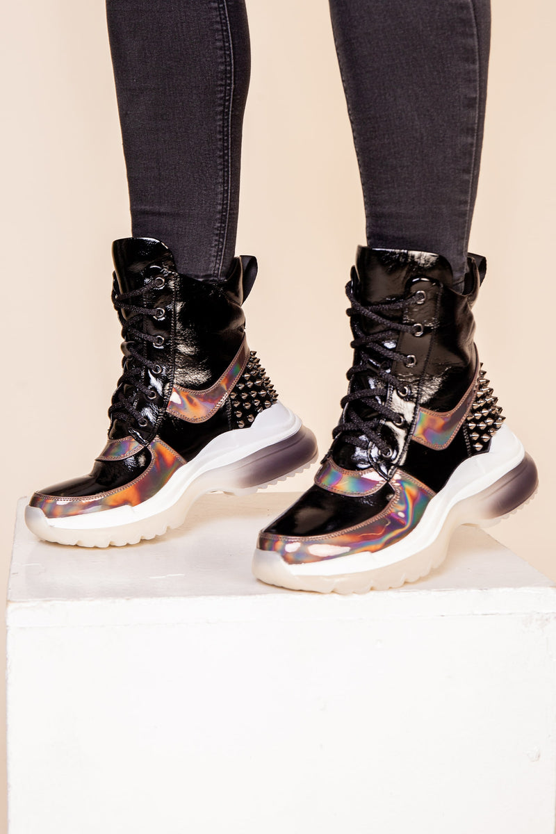 Studded Trainer Boot