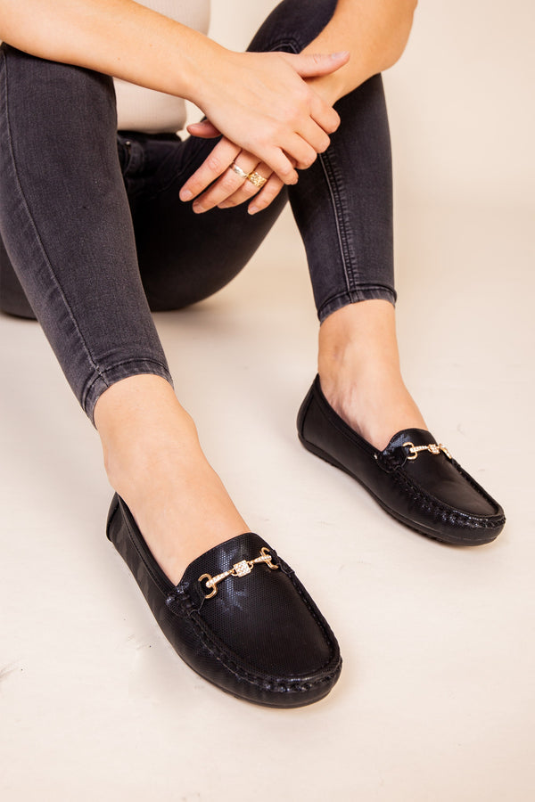 Black Soft Loafer
