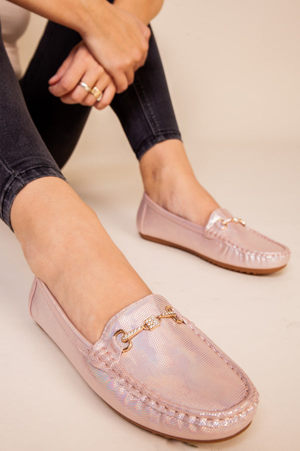 Pink Soft Loafer