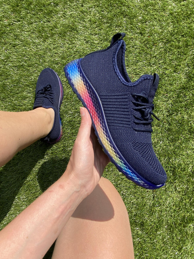 Navy Rainbow Trainer