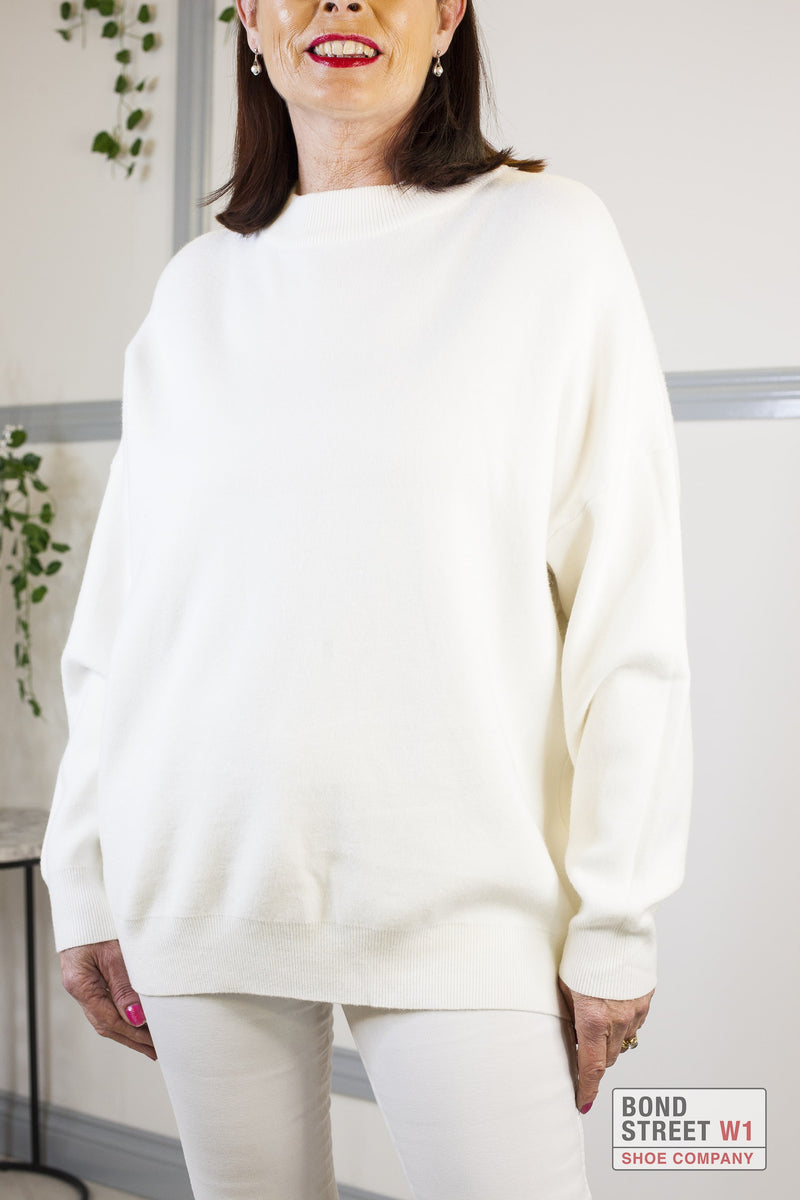 White Angel Wing Knit