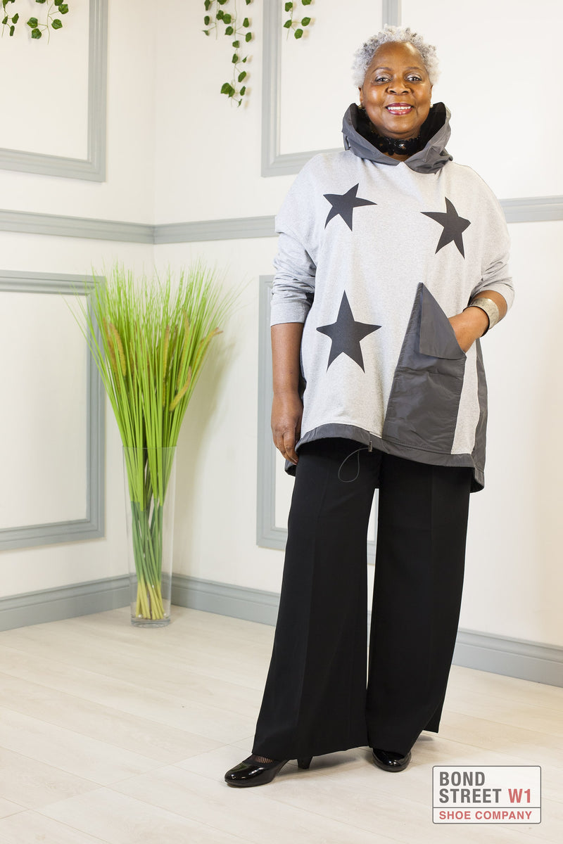 Limited Edition Grey/ Grey Star Sweat Top