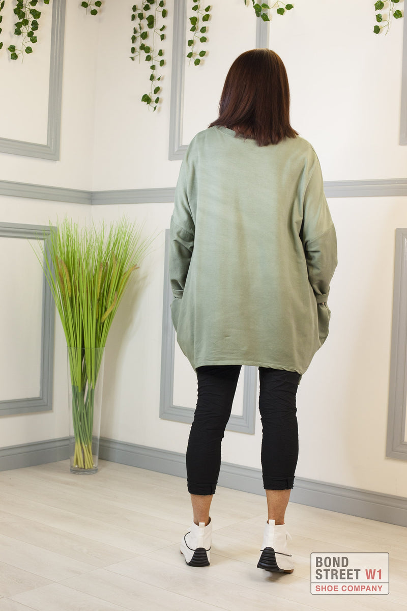 Lucia Red Label Khaki Amore Sweatshirt