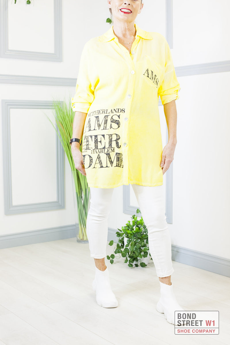 Luna Amsterdam Shirt Lemon